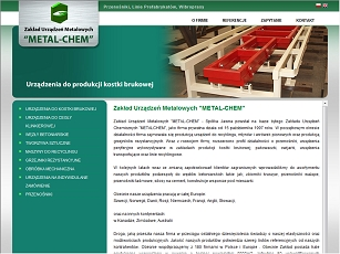 Metal-Chem - systemy owijania palet